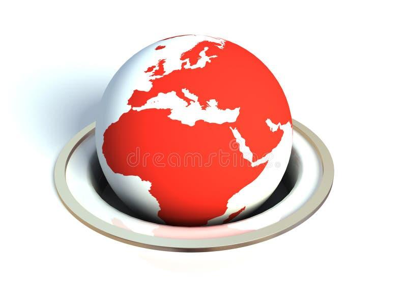 Il pianeta royalty illustrazione gratis