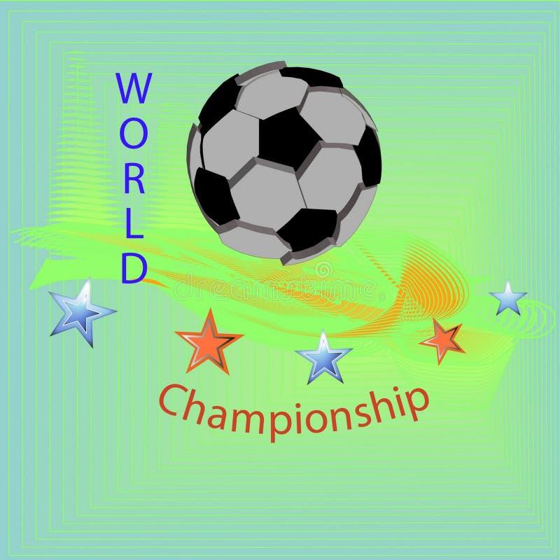 Il pianeta di calcio immagini stock libere da diritti