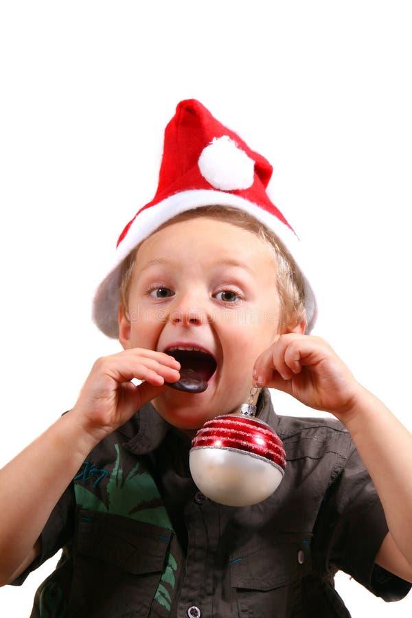 Il piccolo Babbo Natale immagini stock