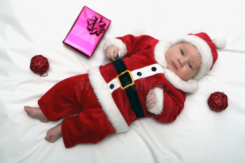 Il piccolo Babbo Natale fotografia stock libera da diritti