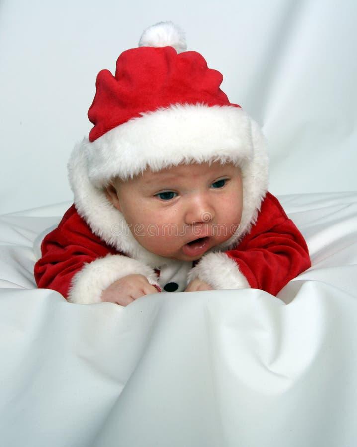 Il piccolo Babbo Natale immagine stock