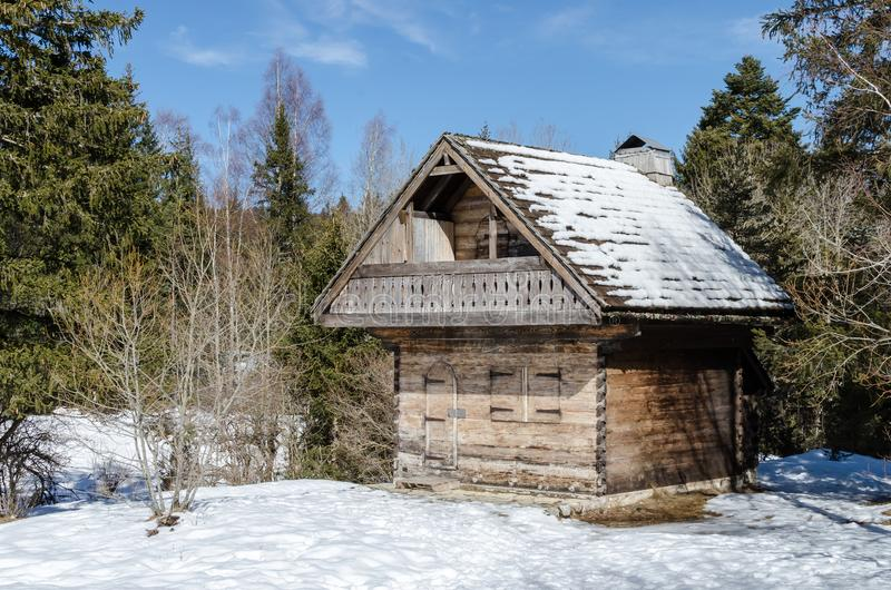 Il piccolo cottage fotografia stock