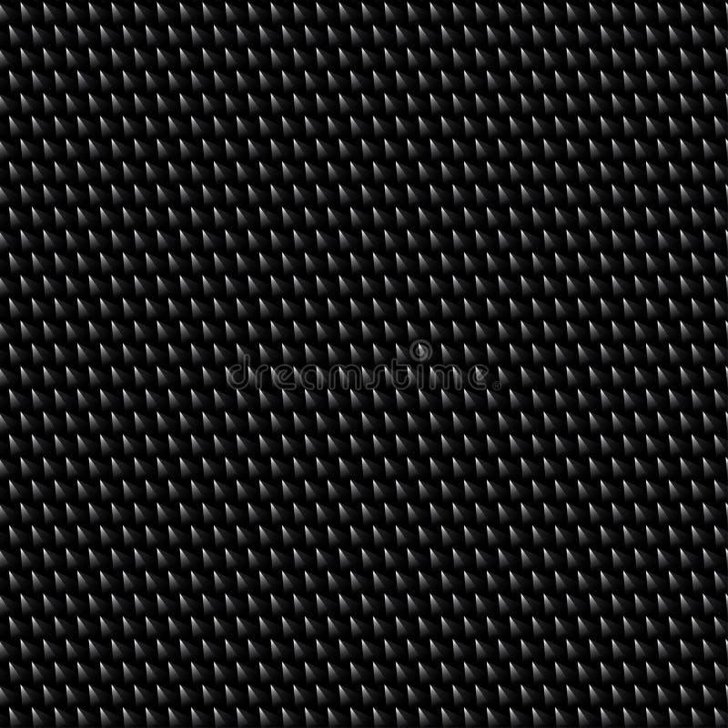 Il piccolo metallo ha strutturato il modello senza cuciture del semitono della maglia 32cm illustrazione vettoriale
