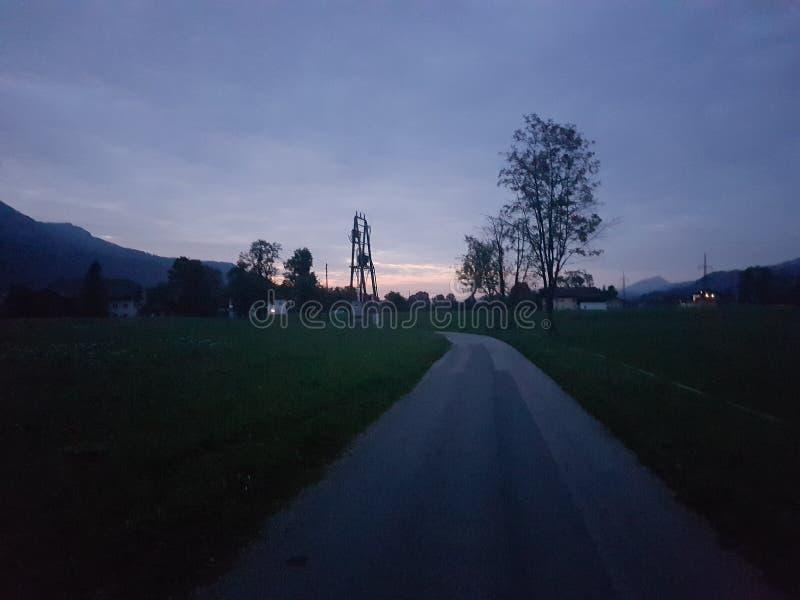 Il piccolo villaggio immagini stock