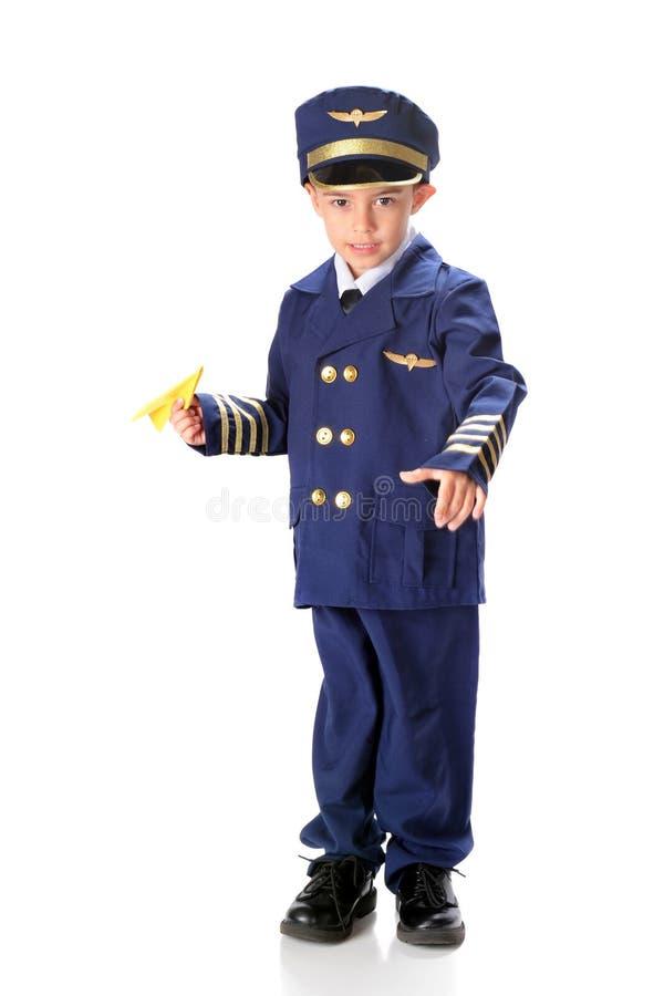 Il pilota vuole - sia fotografie stock libere da diritti