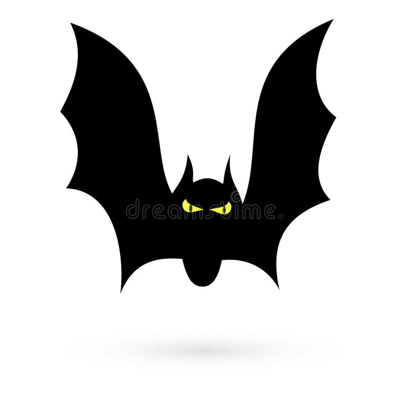 Il pipistrello Quadro televisivo 1 1 1 royalty illustrazione gratis