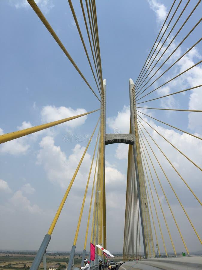 Il ponte del futuro fotografia stock