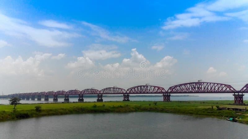 Il ponte di Hardinge fotografia stock