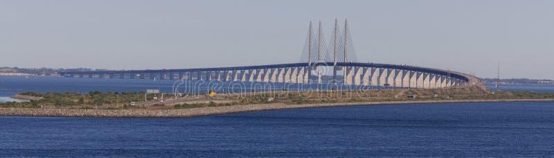 Il ponte in Scandinavia fotografia stock libera da diritti