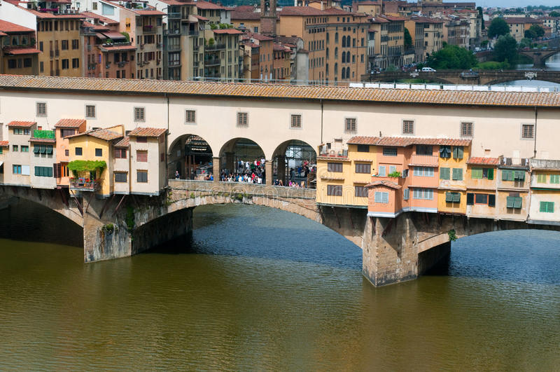 Il Ponte Vecchio immagini stock libere da diritti