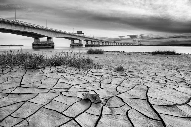 Il ponticello di Severn fotografia stock libera da diritti