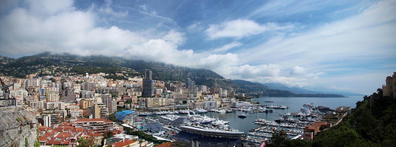 il porto del Monaco fotografia stock