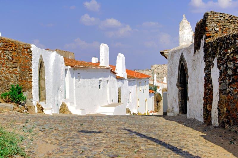 Il Portogallo, Alentejo: architettura tipica fotografia stock