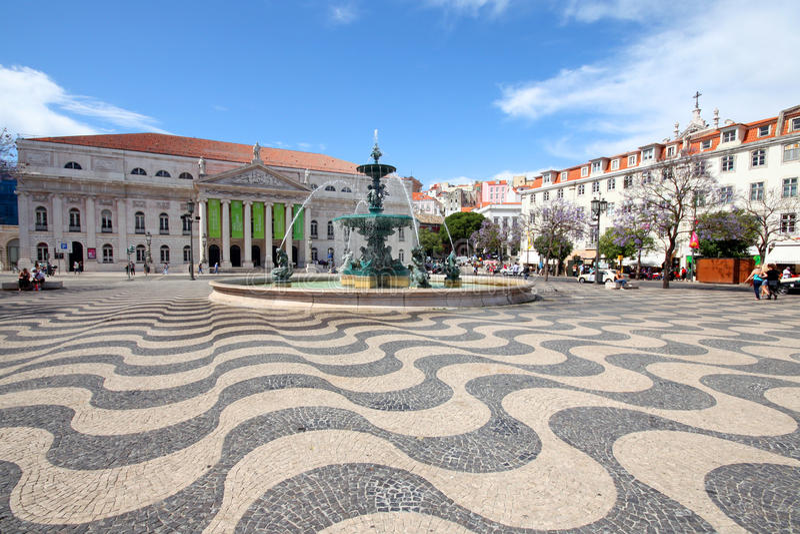 Il Portogallo - Lisbona immagini stock