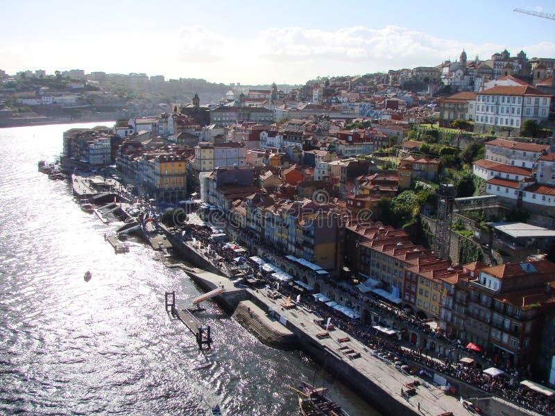 Il Portogallo portugal Paesaggi urbani delle aree storiche della città e le viste sceniche della natura portoghese fotografia stock libera da diritti