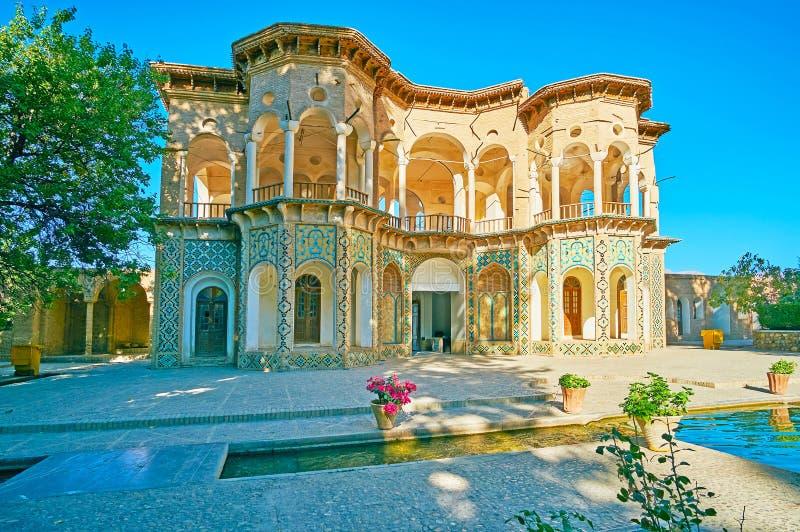 Il portone del giardino del ` s di principe in Mahan, Iran immagini stock libere da diritti
