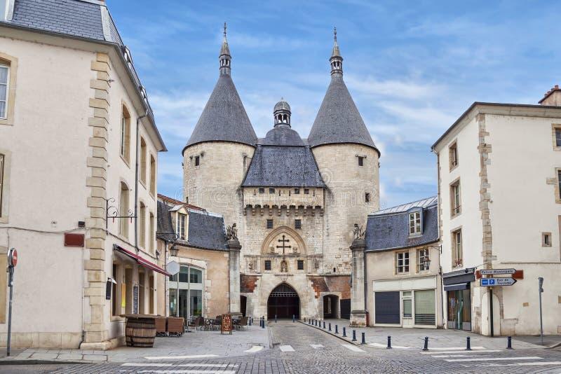 Il portone di Craffe a Nancy, Francia immagine stock libera da diritti