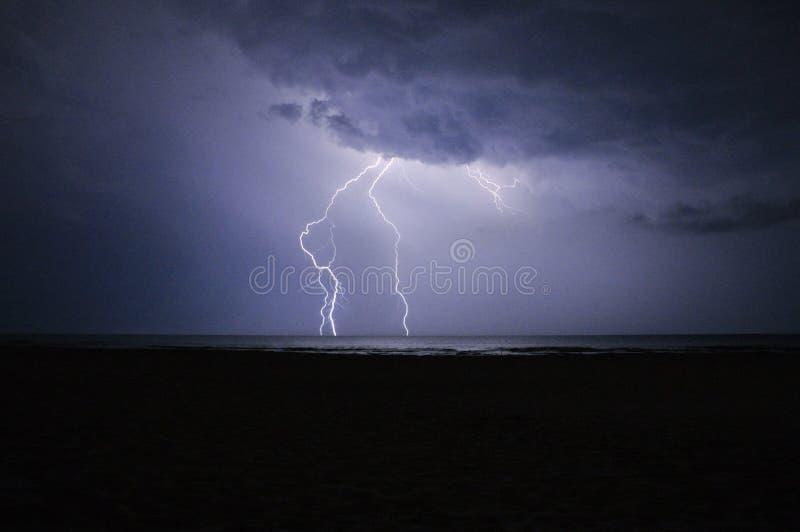 Il potere del cielo fotografia stock