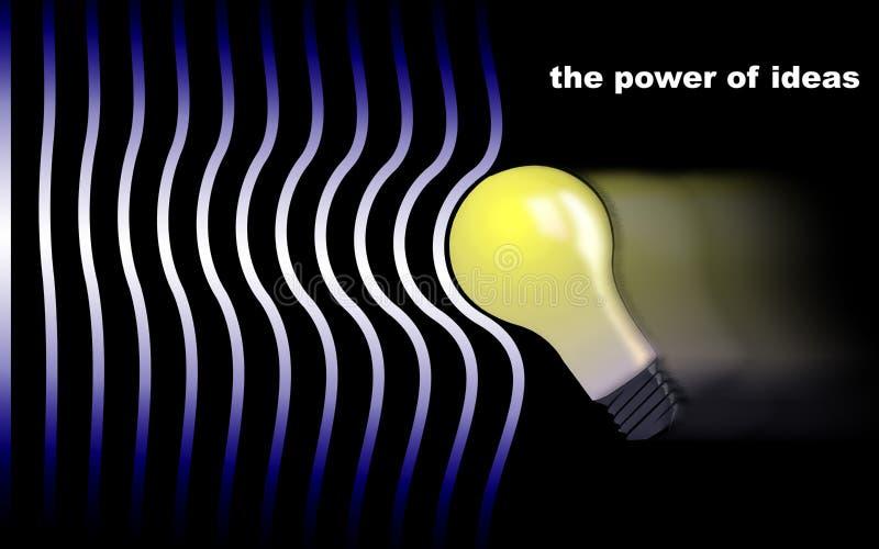 Il potere delle idee immagini stock