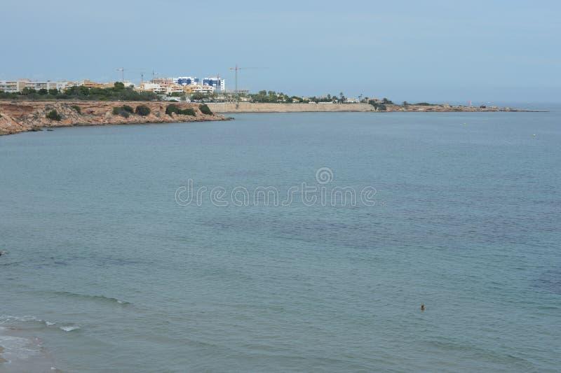 Il prima di Punta è la parte più del sud della località di soggiorno popolare di Torrevieja, è riconosciuto come la regione il pi immagine stock