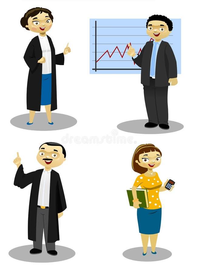 Il Proffesionals 3 illustrazione di stock