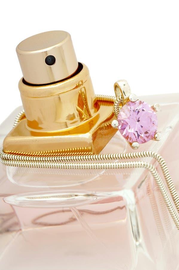 Il profumo è un gioiello. immagine stock