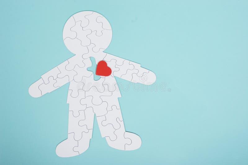Il puzzle umano fotografia stock libera da diritti