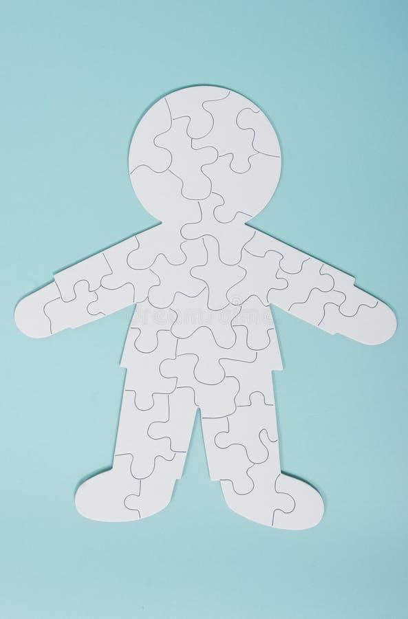 Il puzzle umano immagini stock