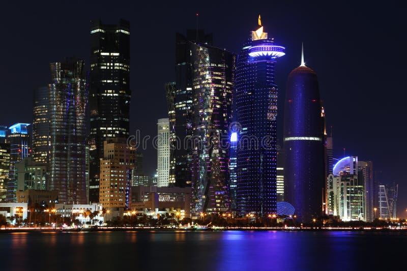 Il Qatar: Centro commerciale di Doha immagine stock libera da diritti