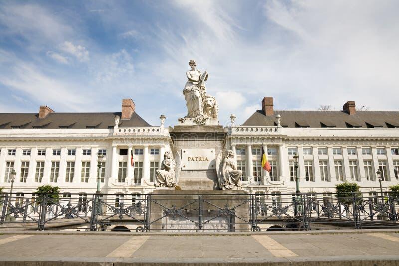 Il quadrato del martire, Bruxelles immagine stock libera da diritti