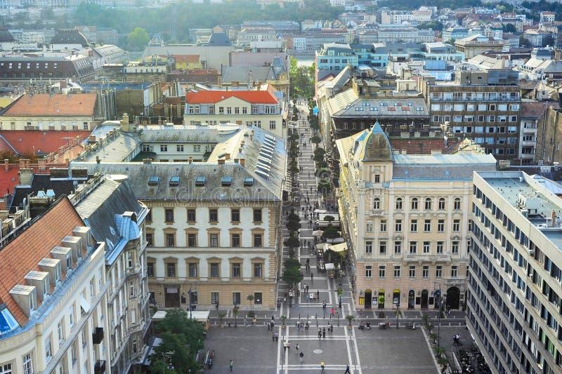 Il quadrato di St Stephen, Budapest fotografie stock libere da diritti