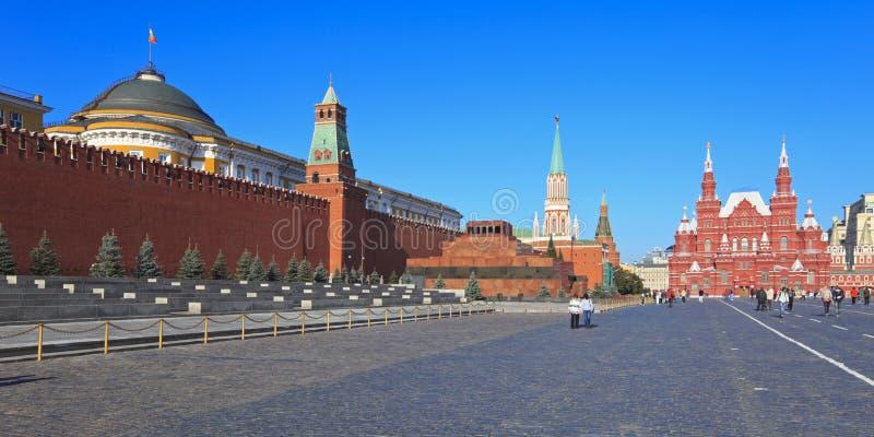 Il quadrato rosso a Mosca, Russia immagine stock