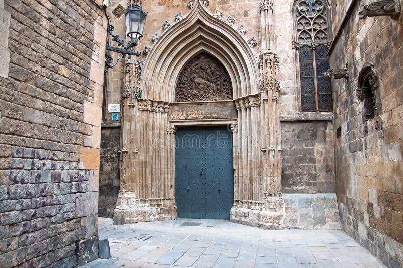 Il quarto gotico in Barcelona.Spain. fotografie stock