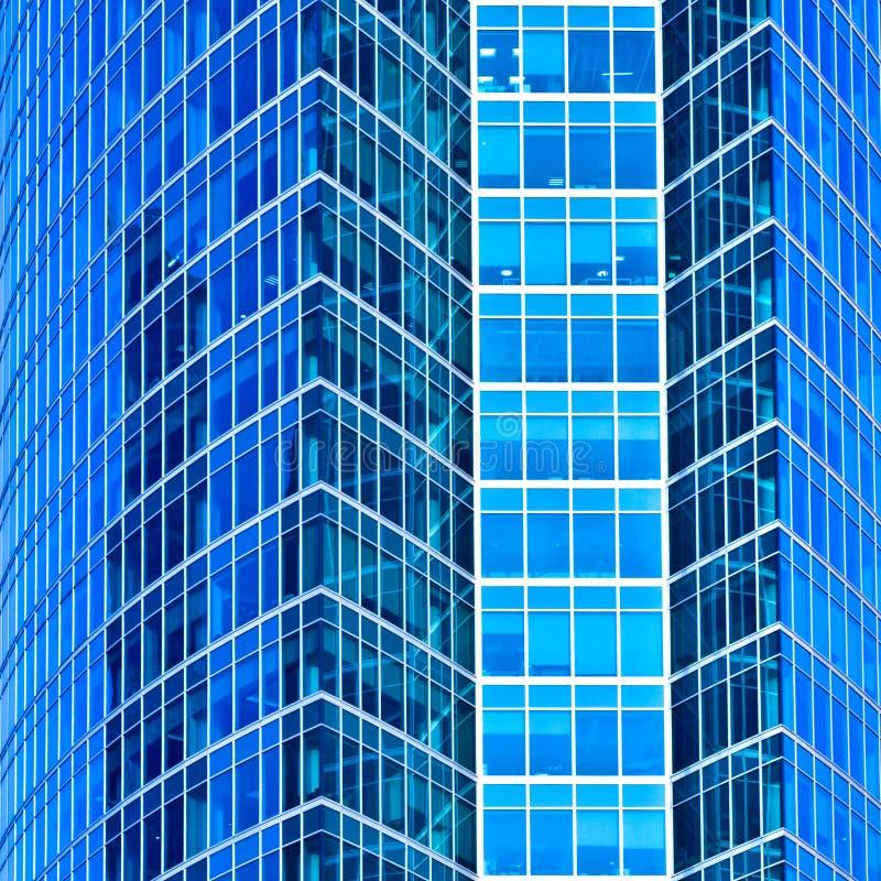 Il raccolto quadrato astratto del grattacielo fotografie stock