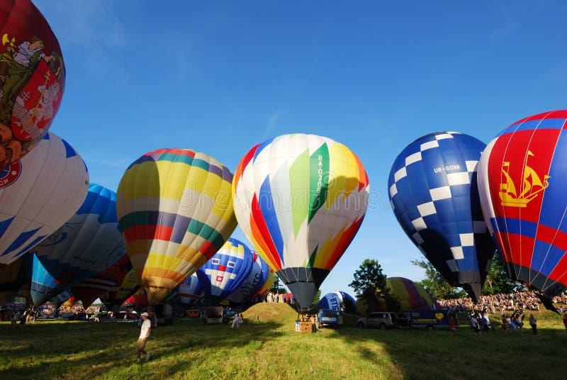 Il raduno internazionale dell'aerostato di Velikie Luki del Xvi-Th fotografie stock