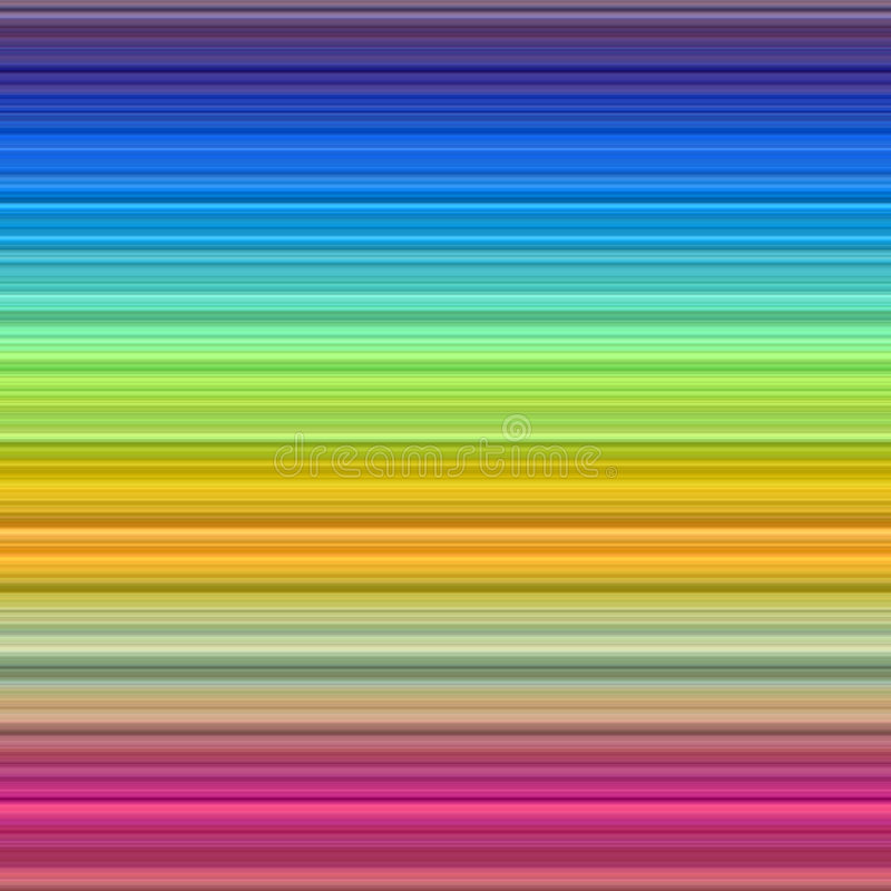Il Rainbow colora la priorità bassa. illustrazione di stock