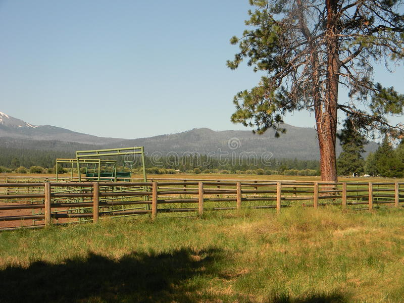 Il ranch fotografia stock