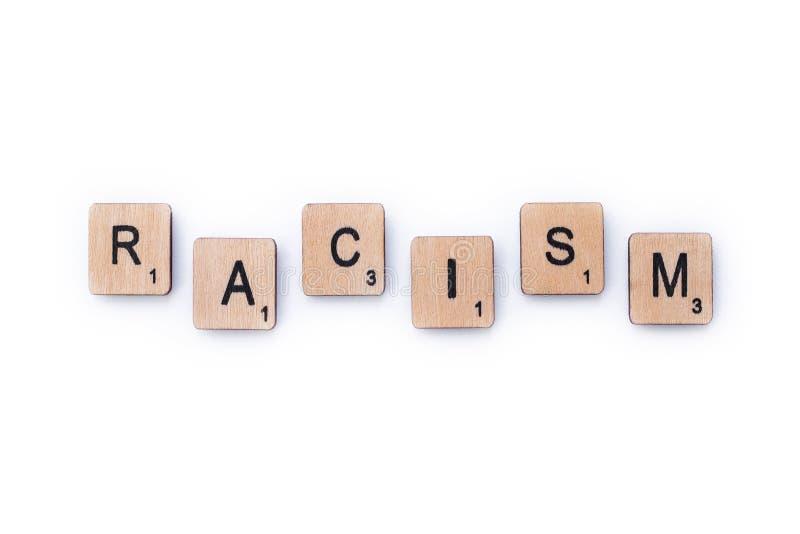 Il razzismo di parola immagine stock libera da diritti