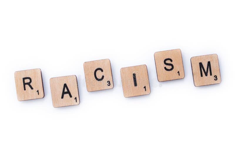 Il razzismo di parola fotografie stock libere da diritti