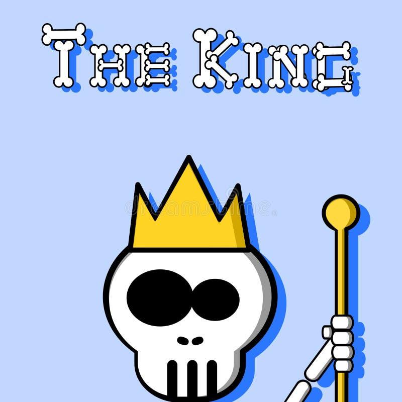 Il re illustrazione vettoriale