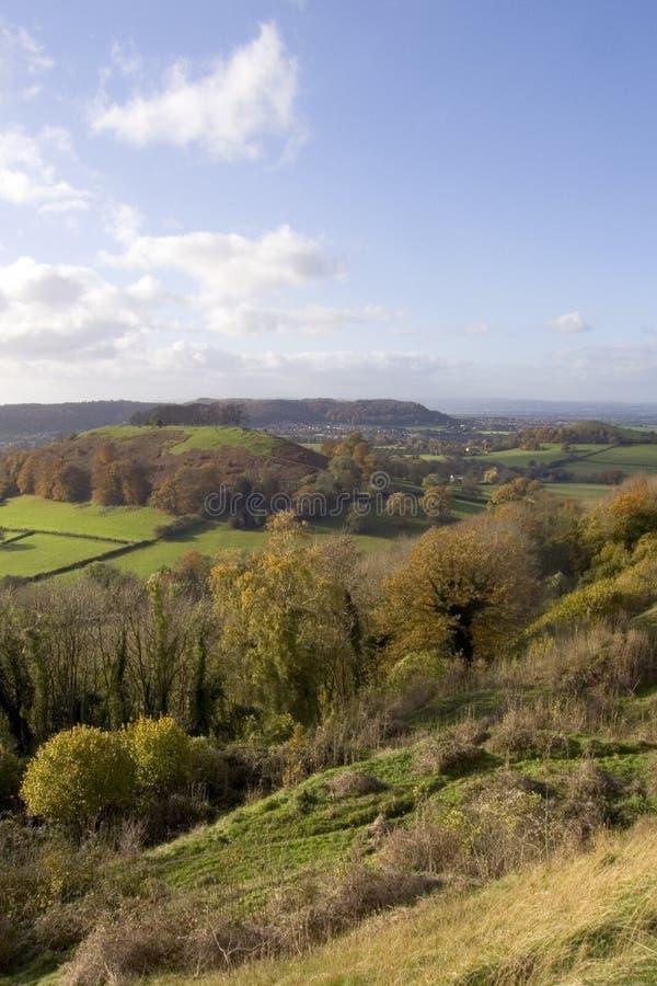 Il Regno Unito, Cotswolds, fossa di Uley immagini stock libere da diritti