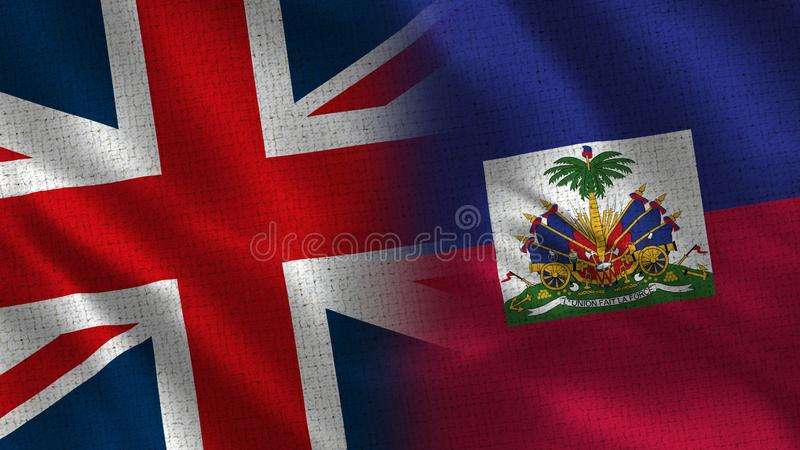 Il Regno Unito e Haiti royalty illustrazione gratis