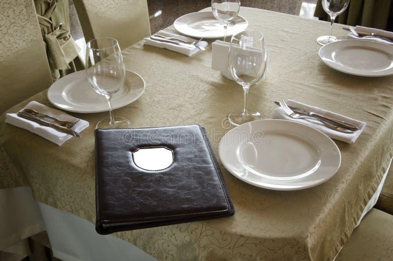 Il ristorante immagine stock libera da diritti