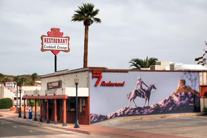 Il ristorante di Rancho 7 in Arizona immagine stock libera da diritti