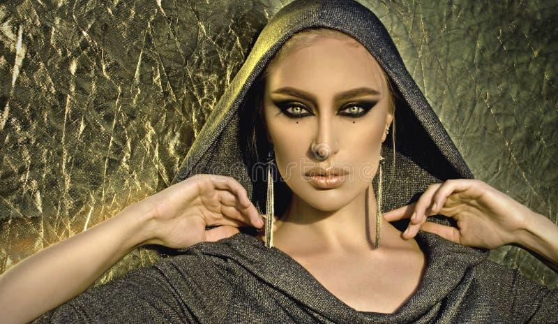 Il ritratto con l'arabo compone immagini stock libere da diritti
