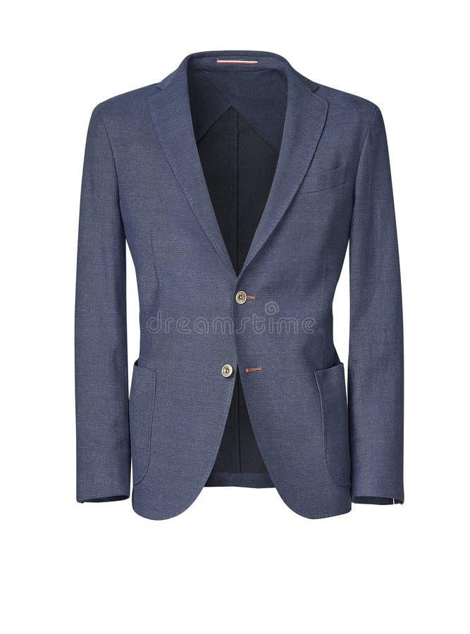 Download Il Rivestimento Degli Uomini Isolato Su Bianco Con Il Percorso Di Ritaglio Fotografia Stock - Immagine di vestiti, blazer: 56892510