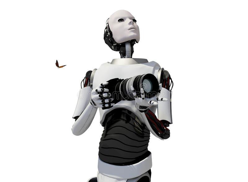 Il robot illustrazione di stock