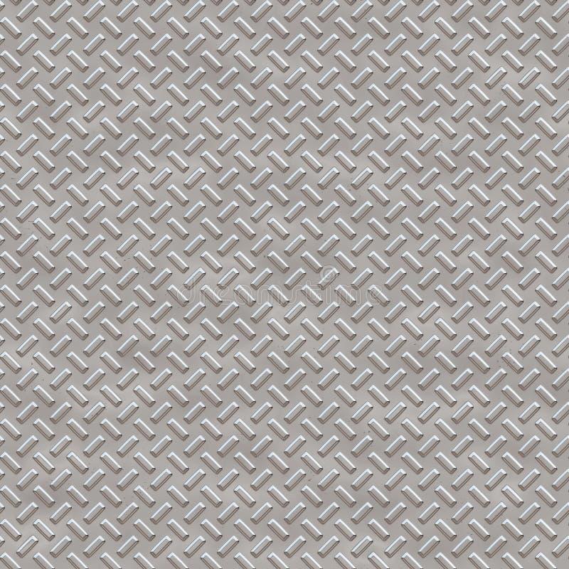 Il rombo senza cuciture di struttura del metallo modella 1 immagine stock