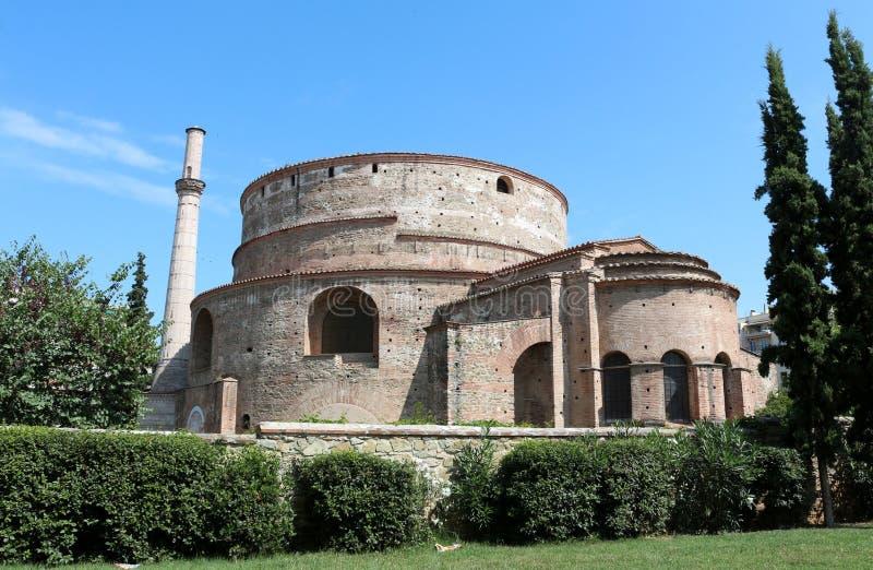 Il rotunda di Galerio, Salonicco, Grecia fotografia stock