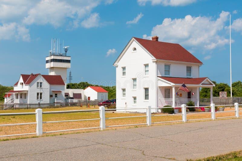 Il ` s del custode divide a nuovo capo Henry Lighthouse in Virginia Beach fotografia stock